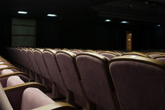 Concert hall. With lots of seats Royalty Free Stock Photo