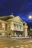 Concert Hall at night, Amsterdam, Netherlands Stock Photography