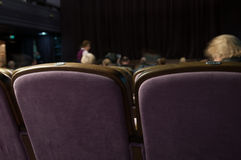 Concert hall with people. Concert hall with lots of seats Royalty Free Stock Photos