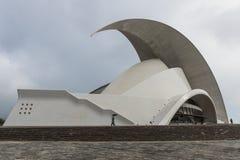 Concert Hall in Rain Stock Photography