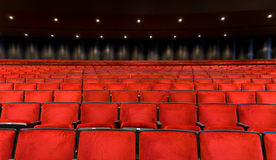 Concert Hall seating royalty free stock photo