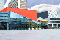 Concert hall and theater in The Hague. Royalty Free Stock Photos