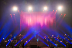 Concert at Harpa Stock Images