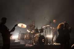 Concert at Harpa Royalty Free Stock Photography