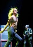 concert iggy pop Στοκ φωτογραφία με δικαίωμα ελεύθερης χρήσης