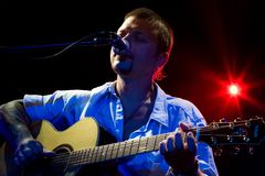Concert of Ilya Chert Royalty Free Stock Images