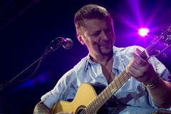 Concert of Ilya Chert in Saint-Petersburg Royalty Free Stock Image