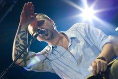 Concert of Ilya Chert in Saint-Petersburg Stock Image