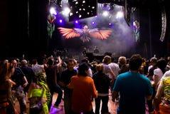 concert infected mushroom Στοκ εικόνα με δικαίωμα ελεύθερης χρήσης