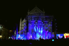 Concert in Italy Royalty Free Stock Image