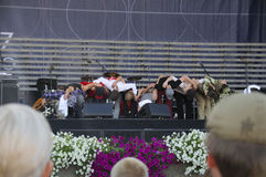 Concert at jazz festival Royalty Free Stock Photography