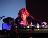 Free Concert Jean Michel Jarre Stock Photography - 22897792