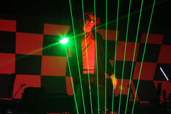 Concert Jean Michel Jarre Royalty Free Stock Images