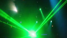 Concert laser lights stock footage