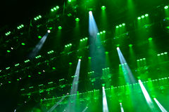 Concert light Stock Photography
