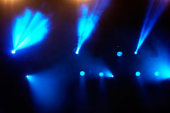 Concert light show Stock Photos