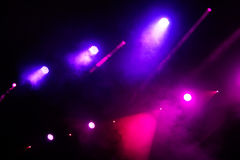 Concert light show Royalty Free Stock Image
