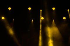 Concert light show Stock Image
