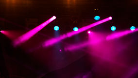 Concert light show Royalty Free Stock Photo