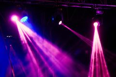 Concert light show Stock Photography