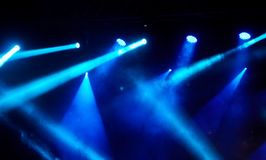 Concert light show. Stage lights on concert. Concert light show stock photos