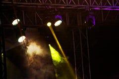 Concert light show Royalty Free Stock Photos