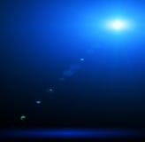 Concert lighting. Against a dark background ilustration Stock Images