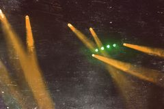 Concert lighting during the show. royalty free stock photography