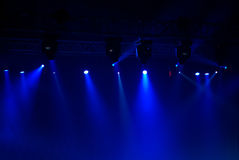 Concert lights Stock Images
