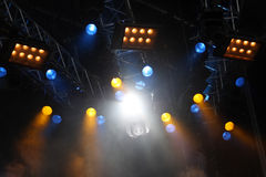 Concert lights Royalty Free Stock Photo