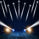 Concert Lights Stock Images