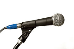 Concert microphone Royalty Free Stock Images