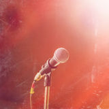 Concert microphone Stock Photos
