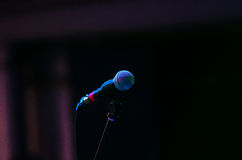 Concert microphone Stock Photography