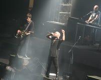 concert milan negramaro Στοκ Εικόνα