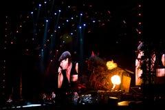 Concert Montréal d'AC/DC Photo libre de droits