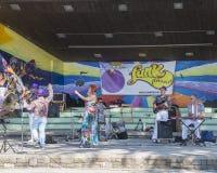 Concert à Montreux Photos stock