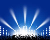 Concert Music Background Stock Photos