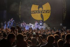 Free Concert Of Legendary Rap Band Wu Tang Clan From USA Stock Image - 157480281