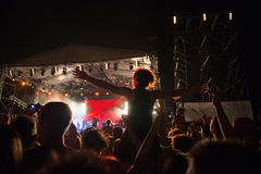Concert outside Royalty Free Stock Image