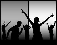 Concert people Royalty Free Stock Images