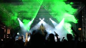 Concert stock video footage