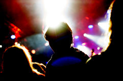 Concert people Stock Image