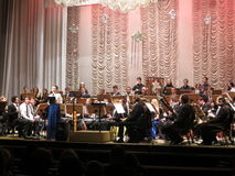 Concert at the Philharmonic. Kiev Stock Images