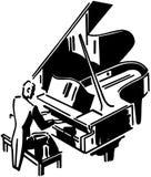 Concert Pianist Stock Image