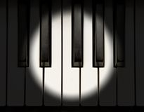 Concert piano royalty free stock photos