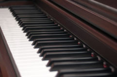 Concert piano keyboard royalty free stock images