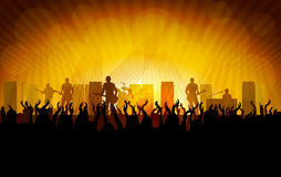 Concert popmusic Stock Photography