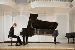 Concert in the Rachmaninov Hall Royalty Free Stock Photo