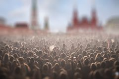 concert on Red Square in Moscow. stock photos